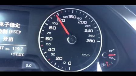 奥迪A4L APR一阶S档百公里加速