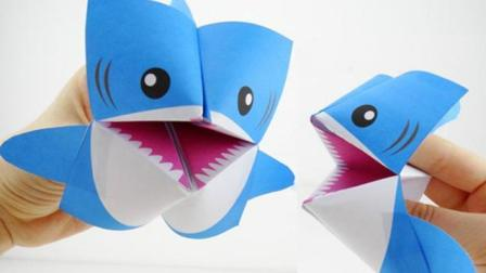幼儿园亲子手工制作海底总动员大鲨鱼, 小兔子, 小鸡任你选