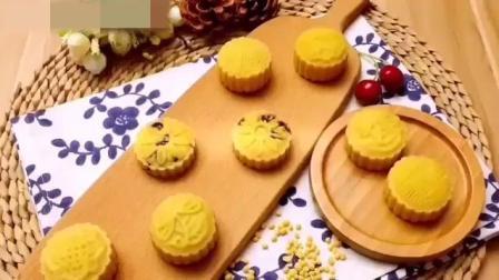 清凉绿豆糕的简易制作