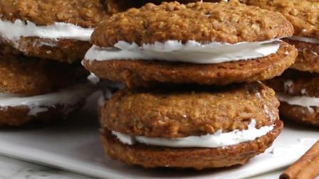燕麦奶油饼干的制作做法, 好吃不会胖, 比曲奇好吃多了, 吃货们的福利