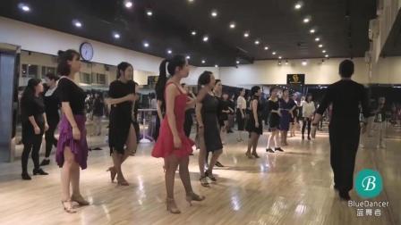 """伦巴""""and拍""""要做什么? 我猜你们并不清楚! #教学##伦巴##dancebaby#"""