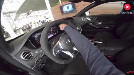 打开18款奔驰s级AMG的车门, 才知道为什么都想当有钱人