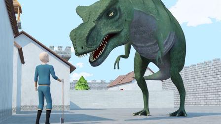 原创动画《恐龙的宿敌》第6集:龙虾狂魔