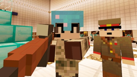 大海解说 我的世界Minecraft 我是特种兵战地轰炸