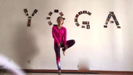 瑜伽教学系列之树式 提高身体稳定性