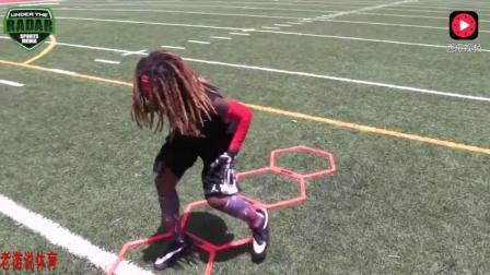 为什么橄榄球运动员身体素质如此强壮? 带你看看8岁天才橄榄球少年的训练