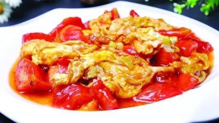 番茄炒蛋这样做百吃不厌, 3分钟学会, 上桌就被抢光