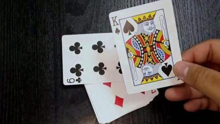 魔术揭秘: 手指一弹, 扑克牌就变了, 原来这么简单