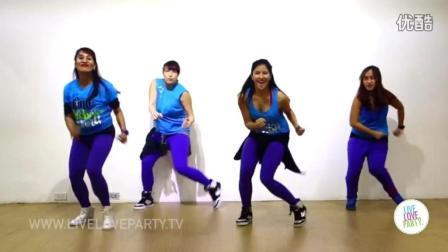 尊巴教学: Sigueme Y Te Sigo - Zumba Fitness - Live Love Party_超清