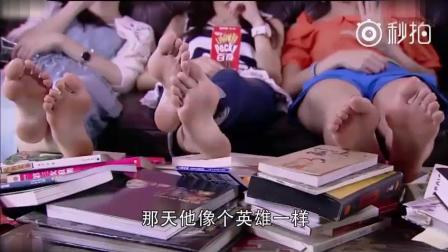 电视剧中唐嫣的美脚