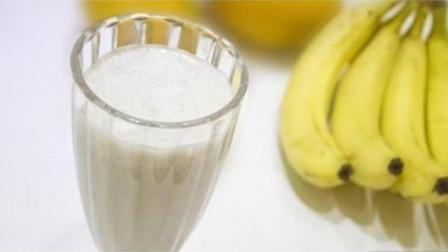 香蕉牛奶最简单的做法, 一分钟做好一杯夏日冷饮, 懒人福音