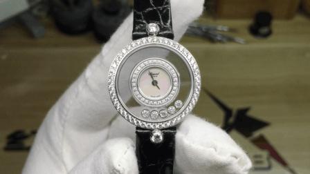 肖邦快乐钻石皮带款女装瑞士石英女表