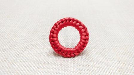 山姐儿手工 中国结编绳基础第37节 单向套环结的编织方法
