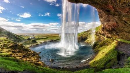世界上最迷人的瀑布 水帘背后别有洞天
