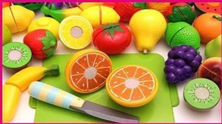 小猪佩奇 水果切切乐食玩 粉红猪小妹小伶玩具