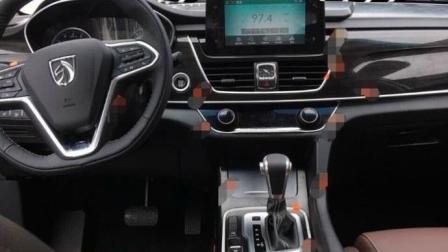 新款宝骏560内饰曝光: 豪华感比老款强太多, 还有真正自动挡!