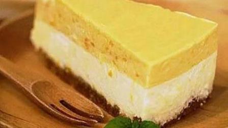 把这道新学的香蕉布丁蛋糕做给婆婆吃, 婆婆吃了三大块, 好吃停不下来!