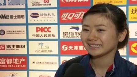 最耿直的记者: 有中国队挡着, 福原爱拿金牌的机会似乎不大