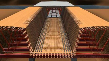桥梁施工, 不是桥梁专业的你也能看懂的3D动画模拟!