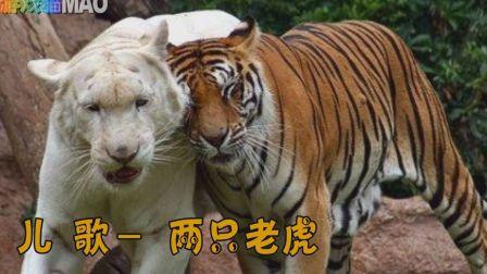 儿歌联唱 两只老虎 一只哈巴狗 小兔子乖乖 数鸭子拔萝卜经典儿歌童谣 动物实拍