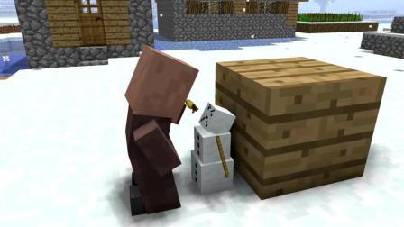 我的世界搞笑动画片, 雪人勇斗强盗