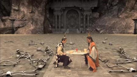 两位天神下棋一下就是一千年, 身边侍卫都死去了还没分胜负