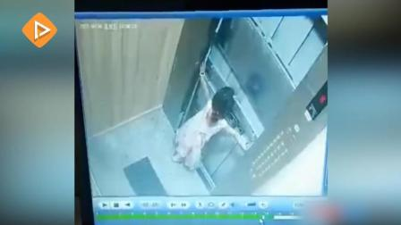 女童被困电梯竟用四肢扒开电梯门;河南许昌一医院发生火灾浓烟滚滚
