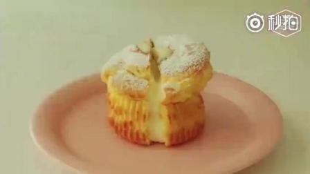 泡芙的另一种做法, 做成泡芙马芬, 再也不用担心泡芙的奶油芯乱流了