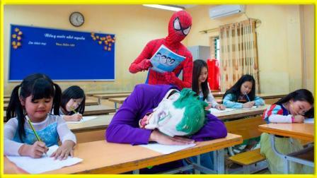 美国超人大战小丑救艾莎公主 277