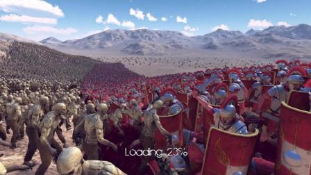 战争模拟器: 是现代科技厉害还是战神斯巴达强, 贱圣带你看