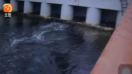 深圳湾渔人码头黑水横流还传出阵阵恶臭 究竟何事?