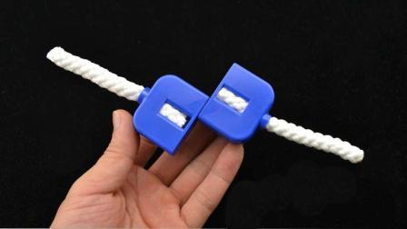 不合常理的绳子, 弄断后瞬间还原, 原来这么简单