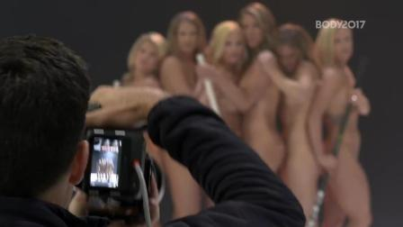 人体自然之美: 美国女子曲棍球队为ESPN《body issue》杂志拍照