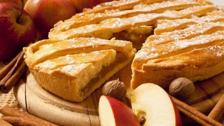 简单3步, 教你在家做苹果派!