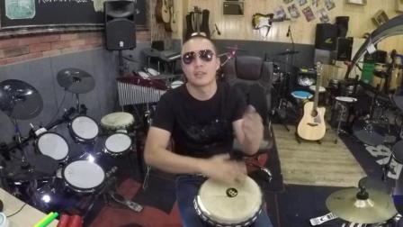 凯文先生《情非得已》非洲鼓丽江手鼓音乐演奏(非教学)