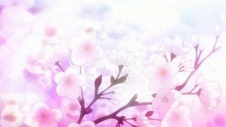 动漫里的樱花是这样的, 好唯美啊!