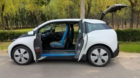 宝马i3纯电动汽车 38公里租车体验