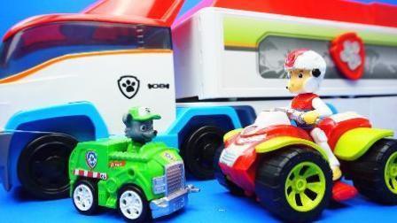 汪汪队立大功2 公交车挖掘机玩具 托马斯小火车