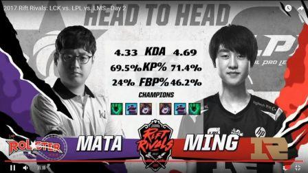 2017LOL洲际赛亚洲区 RNG VS MVP 决赛