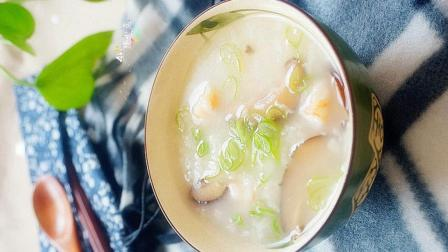 鲜虾香菇粥的做法, 鲜虾香菇粥怎么做好吃