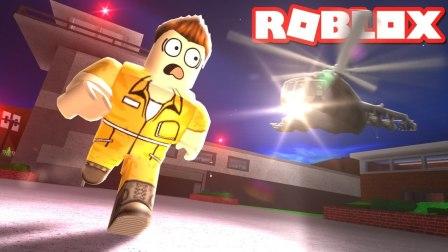 【越狱】囚犯乐高机智越狱, 偷警车打警察嚣张不成反被抓! Roblox虚拟世界小格解说