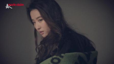 《嘉人》八月刊刘亦菲封面拍摄花絮