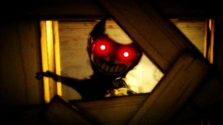工厂地下室的黑色水怪!#恐怖游戏【班迪的油印机】娱乐解说