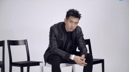 双色李现: 一面帅酷的黑, 另一面文艺的白。