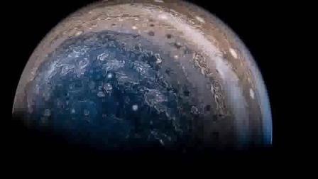 """""""朱诺号""""探测器最新拍摄木星大红斑的详细结构"""