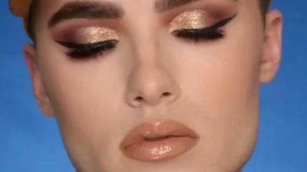 男人化眼妆, 雄雌难分! 欧美男亲手指导女性化妆