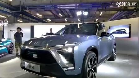 引领未来的汽车! 蔚来第一款真正量产车型ES8 双电机7座全尺寸SUV