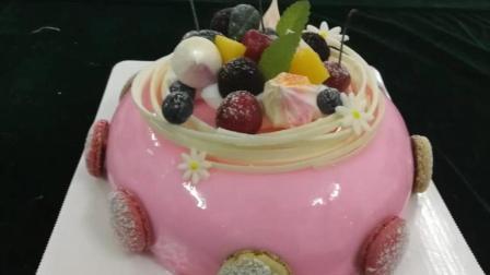 美女学做蛋糕之后的惊艳之作, 法式西点光亮如镜好吃好看, 让人围观点赞!