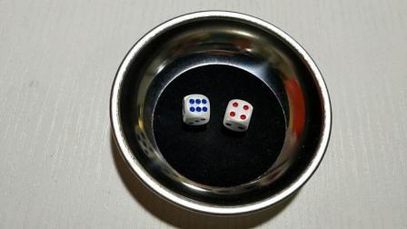这个骰子魔术好, 录了50多次才成功, 原来这么简单