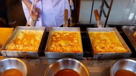 日本街头美食之特色煎蛋, 看着口水直流